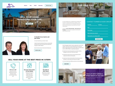 Turner & Rudd Website Design
