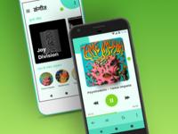 Sangeet - PlayerActivity