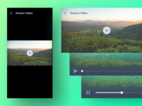 States for FullScreen Video Playback - Vertical & Landscape