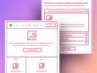 Collaborative Invision Freehand for Landing Page with Lyearn
