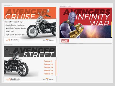 Coincidence? passtime fun avengers avenger bajaj