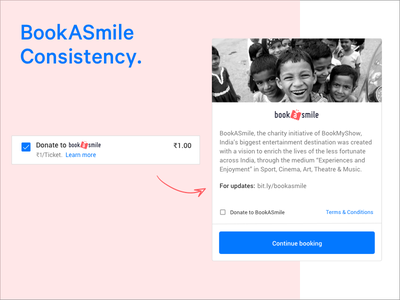 BookASmile Interaction & Consistency emotional design android design mobile responsive design material design