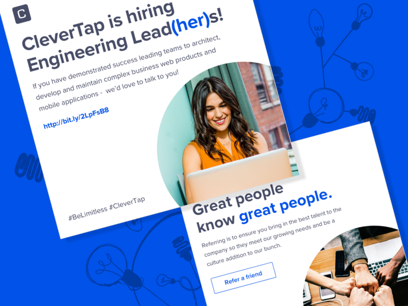 Posts for Hiring - CleverTap
