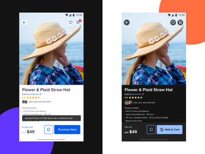 E-Commerce A/B Tests: Light and Dark Mode typography android design responsive design material design