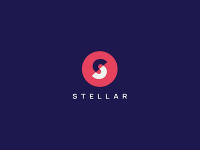 Stellar Design System monogram space logo identity design system stellar