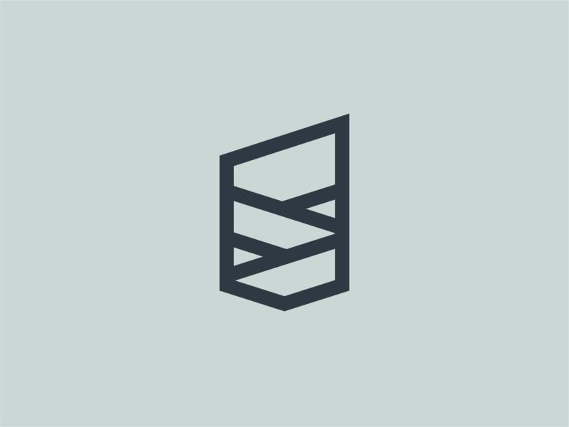 Hills + Crest hills logo thicklines sheild illustration icon badge crest