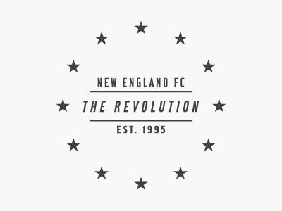 New England FC mls soccer football new england logo identity sports
