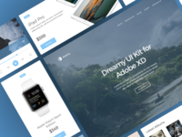 Dreamy UI Kit for Adobe XD | Coming soon