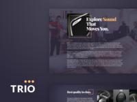 Trio UI Kit for Adobe XD Sneak Peek 2