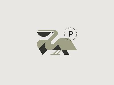 pelican spg mark identity symbol logo animal minimal geometic illustration birds bird pelican illustration pelican logo pelicans pelican