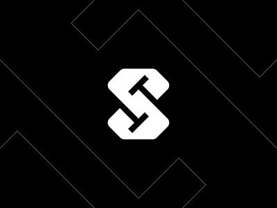 ST Diamond st t letter logo s letter logo letter logo negative space logomark illustration identity mark symbol monogram logo logo letter t logo s logo t s monogram