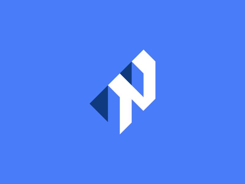 N Monogram negative space n letter logo typography typo branding logomark icon minimal illustration identity mark symbol logo monogram n monogram letter n logo n