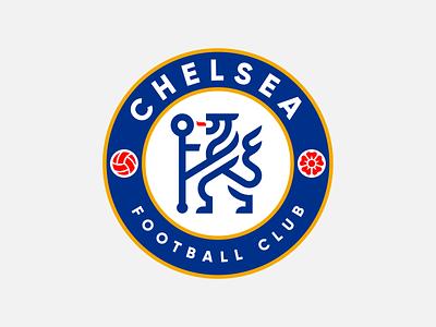 Chelsea FC redesign elegant brand branding rebrand rebranding minimal animal identity mark symbol rampant lion logo badge sports soccer football chelseafc chelsea