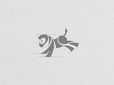 Zebra Sketch sketch zebra zebra logo animal animal logo logo cute horse pony mark zebra mark illustration