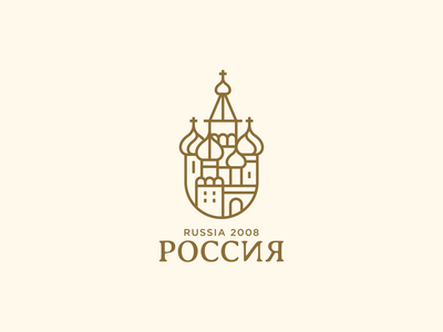 Moscow vector architects spg ux ui symbol church royal elegant christian cathedral branding russian logo illustration moscow russia