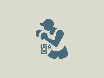 Fighter branding illustration identity mark symbol logo negative space logo negative space punch warrior fighter fight boxing logo boxer boxing