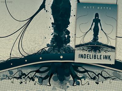 Indelible Ink vector science fiction novel illustration