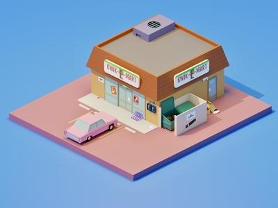 Kwik-E-Mart - Simpsons