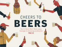 North Bank Beer Week Cover
