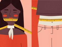Staying mum about weight loss