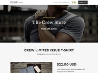 Crew store full
