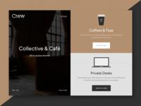 Crew Collective & Café - WIP