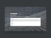 Unsplash Suggestive Search