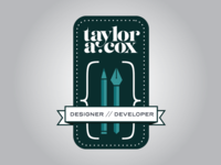 Taylor A. Cox Badge Logo