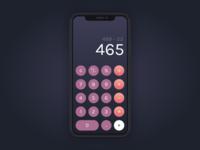 Daily UI – 004 Calculator