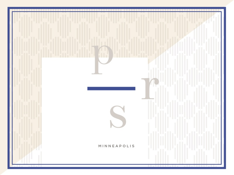 PRS logo rejected brand pattern logo