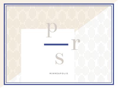 PRS logo rejected brand pattern logo