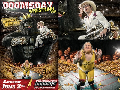 "Doomsday Wrestling presents ""Gorilla Warfare"""