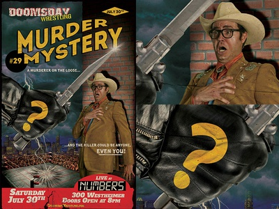 "Doomsday Wrestling presents ""Murder Mystery"""