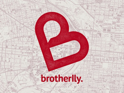 Logo: Brotherlly philadelphia philly branding monogram logotype logo