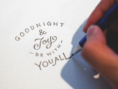 Handlettering: The Parting Glass pencil lyrics handdrawn type typography handlettering lettering