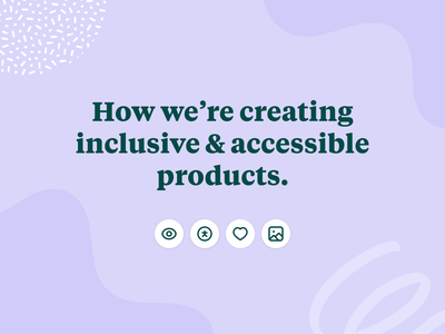 Inclusive & Accessible Products pattern icon healthcare iconography typography pride product design inclusivity accessibility