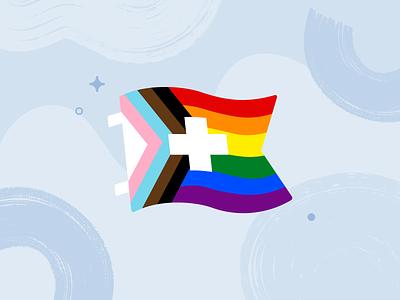 LGBTQIA+ Youth Healthcare design illustration inclusivity pride healthcare