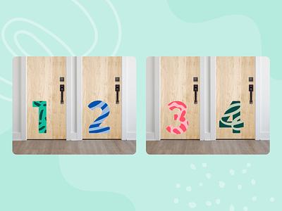 Pediatric Clinic Room Numbers accessibility illustration design inclusivity healthcare
