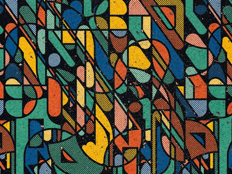 Pattern Number 194 abstract art abstract pattern abstraction pattern art pattern a day decorative colourful shape abstract handmade digital drawing pattern