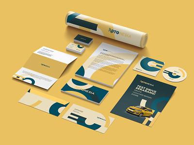 Otonesia Visual Identity branding and identity car automotive branding brand design branding identity visual identity branding design otonesia