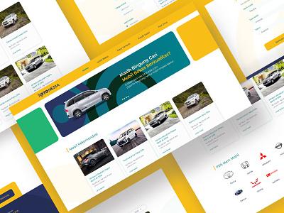 Otonesia Website Design website design car design sell a car selling car web design car automotive design automotive uiux webdesign otonesia