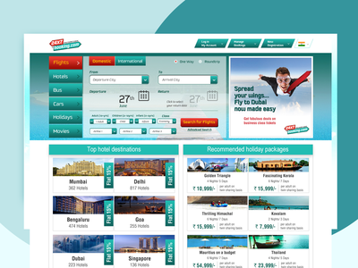 24x7 Booking.com webdesign ui ux branding ux design