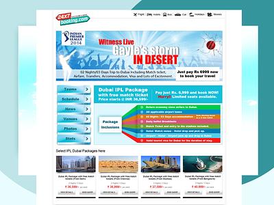 24x7booking.com offers page design webdesign ux design branding