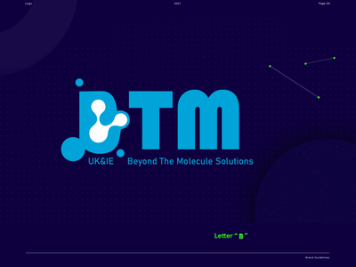 BTM Logo for United Kingdom & Ireland market graphic design logo ui typography branding
