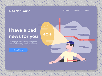 Custom 404 page illustration 404 82 challenge rebound shots dribbble logo vector ui illustration icon design candle branding app brand