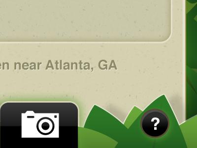 near Atlanta, GA iphone jungle black green brown