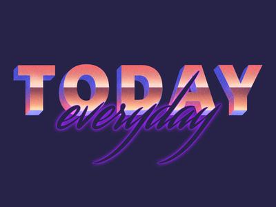 Today • Graphic Design