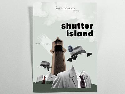 Shutter Island Poster • Graphic Design