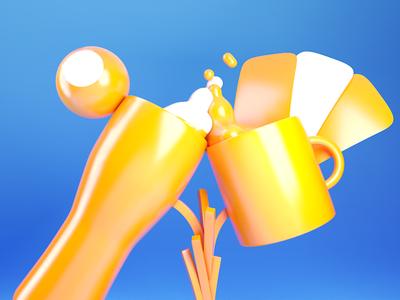 Class Trophy • 3D modelling