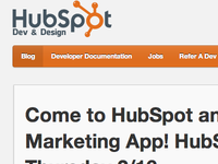 HubSpot Dev Blog
